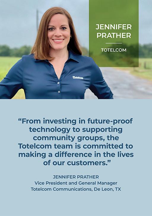 Totelcom's Jennifer Prather